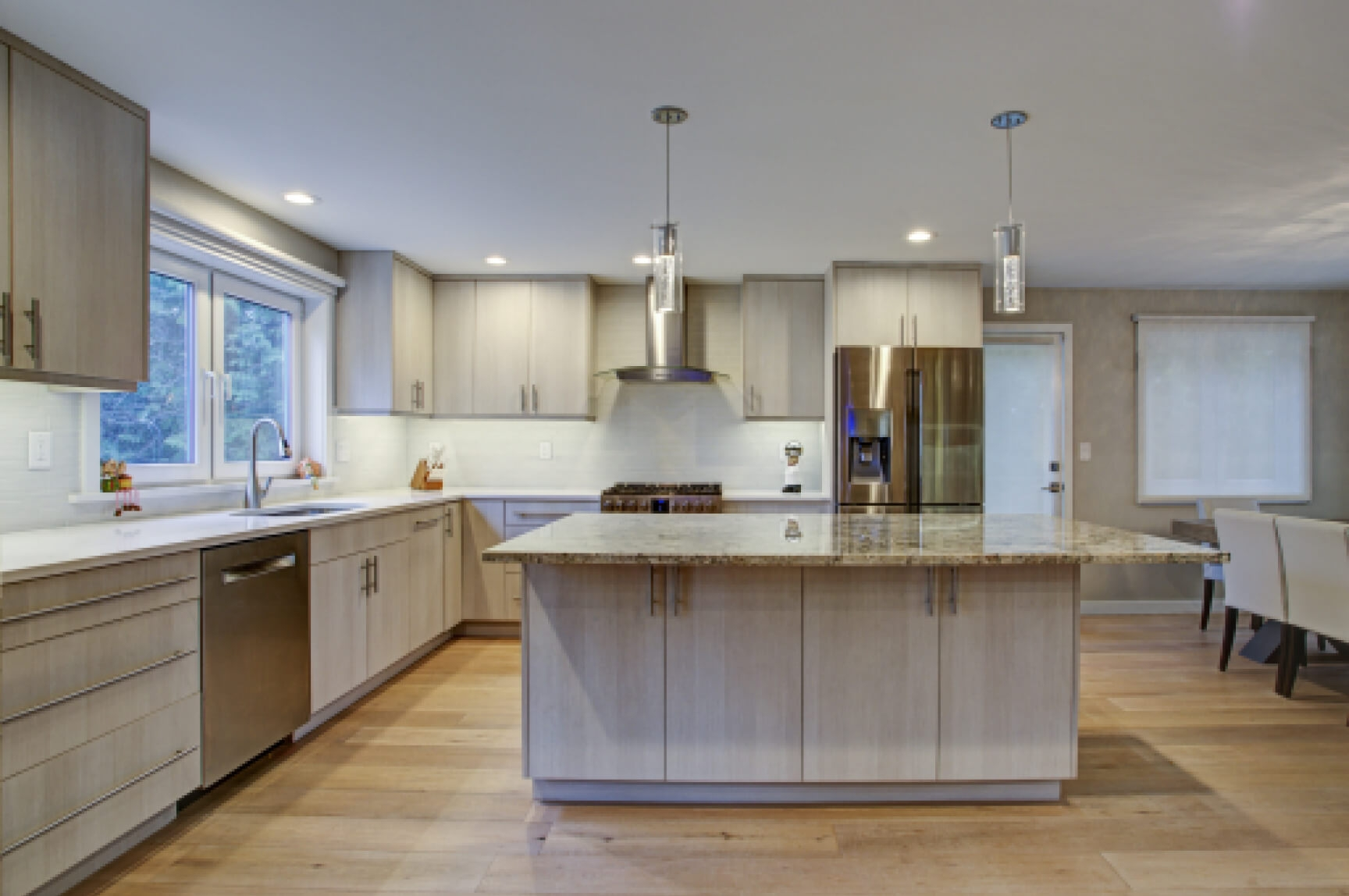 Johnsons Facade & Kitchen Remodel project
